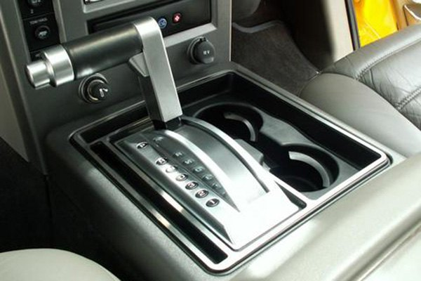 Acc Hummer H2 2003 2007 Brushed Center Console Trim