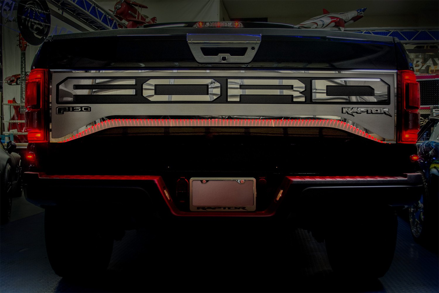 Acc 174 Ford F 150 Raptor 2017 Tailgate Plate