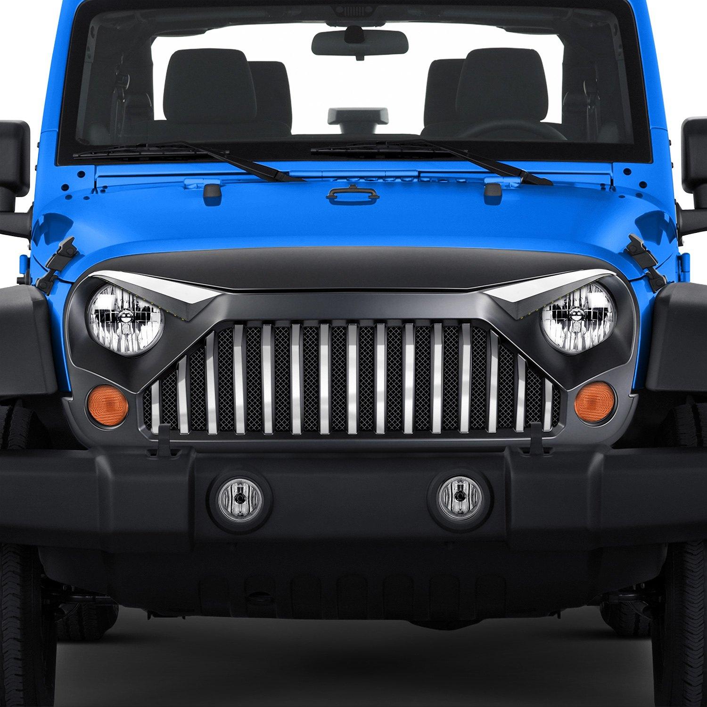 Acc Jeep Wrangler Jk 2018 Gladiator Grille Upgrade Kit