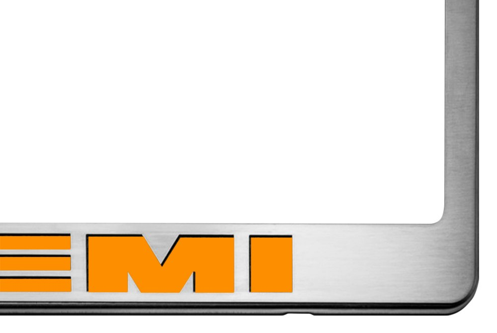 Charming ... Car Craft®   License Plate Frame With HEMI Logo IlluminatedAmerican ...