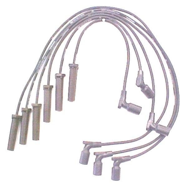 accel® - chevy silverado 2001 spark plug wire set spark plug wire diagram 2 5 chevy