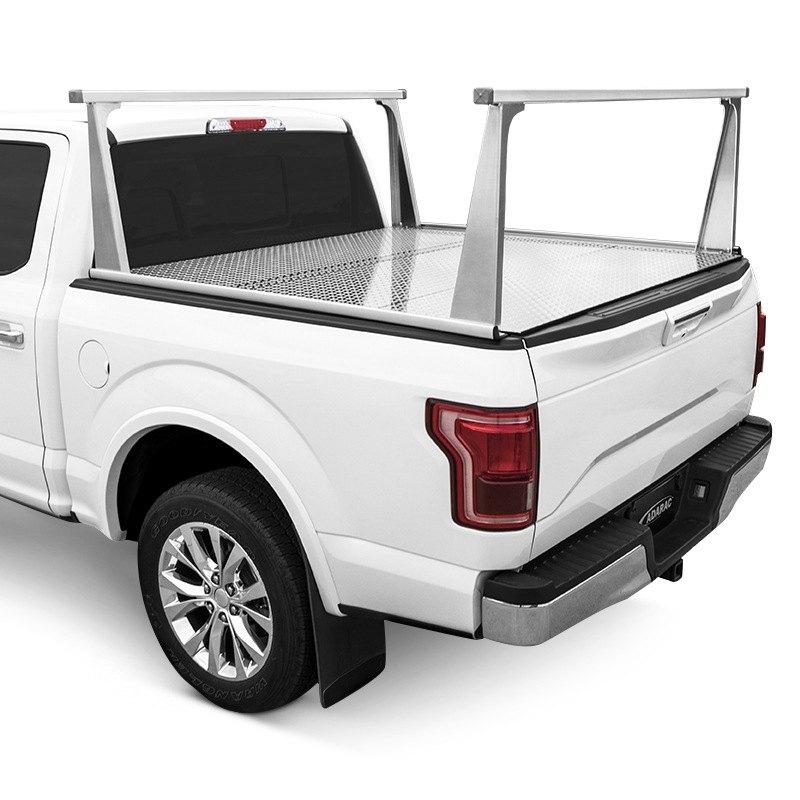 access gmc sierra 1500 2014 2018 adarac aluminum pro series truck rack system. Black Bedroom Furniture Sets. Home Design Ideas
