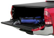 Access Roll-Up Tonneau Cover with Opened Tailgate