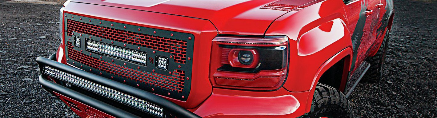 Vehicles besides 1990 Civic si hatchback additionally 2015 Gmc Canyon Nightfall Edition Is The Shadow Of Naias additionally 152314145097 as well 2012 Gmc 2500hd Sierra Denali Duramax 4x4. on 2014 gmc sierra all terrain grill