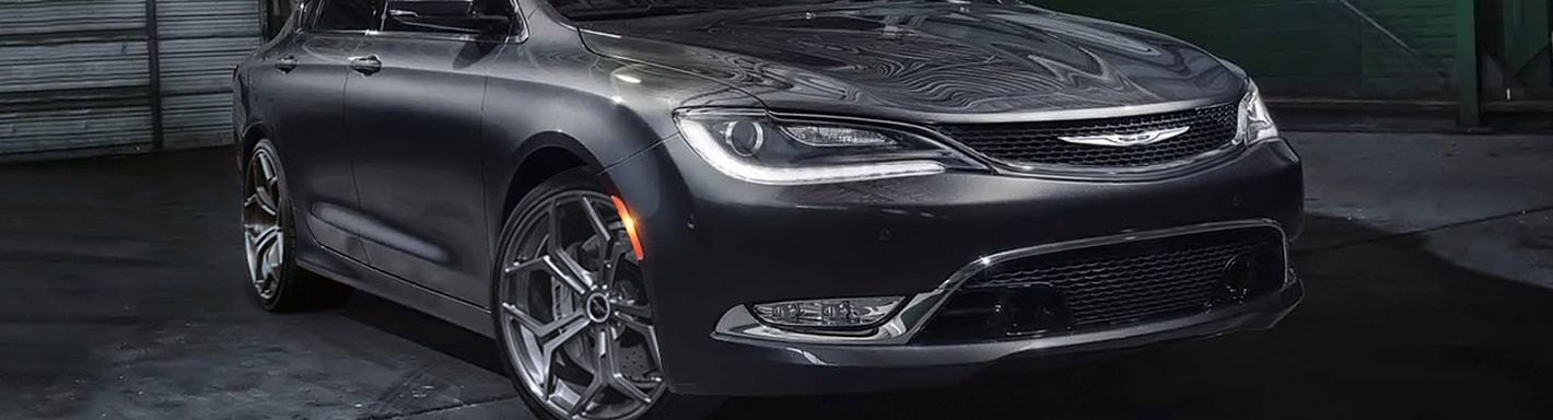 2012 Chrysler 200 Grill >> 2015 Chrysler 200 Accessories & Parts at CARiD.com