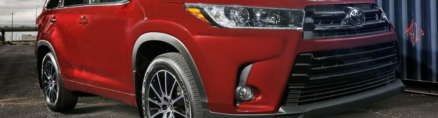 2019 Toyota Highlander Accessories Parts