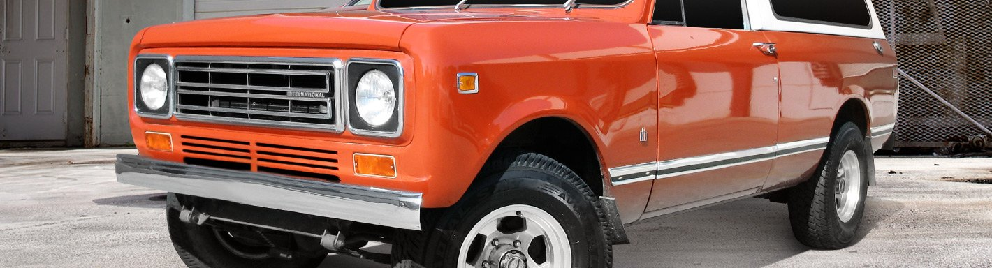 International Scout Accessories & Parts