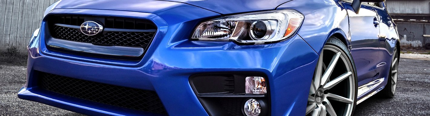 Subaru WRX Accessories & Parts - CARiD com