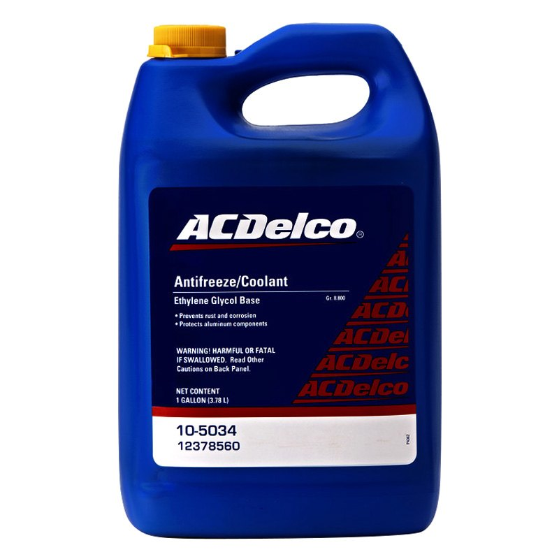 [DIAGRAM_5UK]  ACDelco® 10-5034 - GM Original Equipment™ Traditional Concentrated Engine  Coolant, 1 Gallon   Gm Engine Coolant      CARiD.com