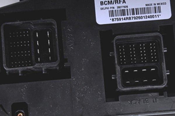 Body Control Module >> ACDelco® - Hummer H3 2007 GM Original Equipment™ Body Control Module