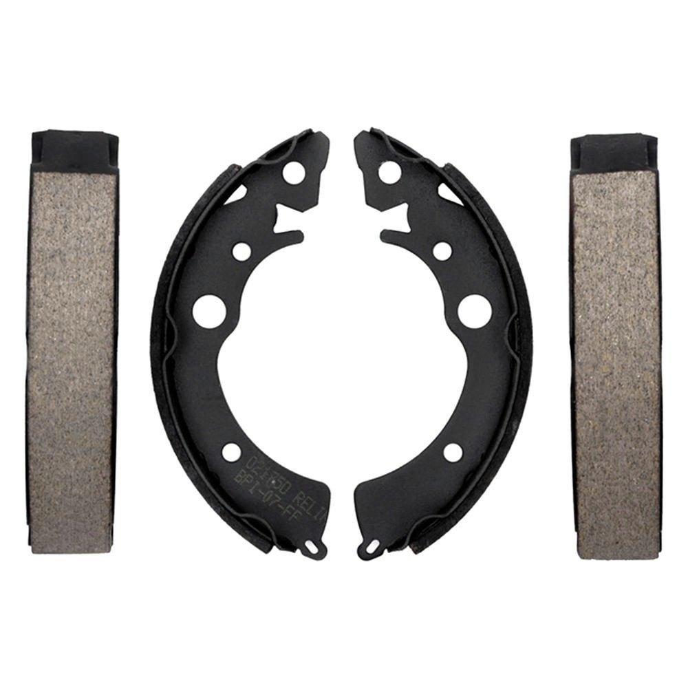 ACDelco 17545B Professional Durastop Bonded Rear Drum Brake Shoe Set Replacement Parts Drum Brake
