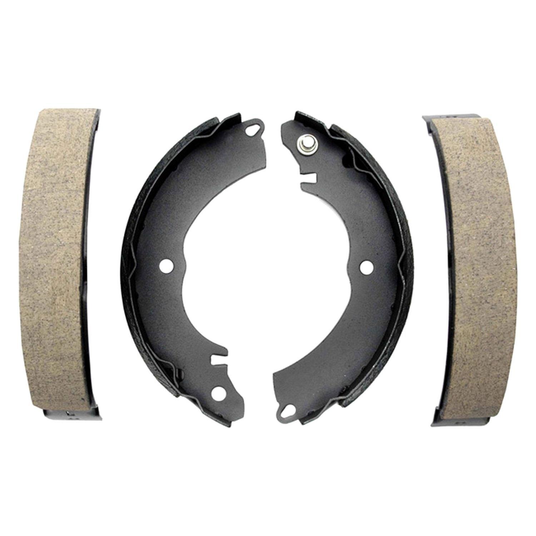 Lodal Brake Shoes : Acdelco b professional™ rear drum brake shoes