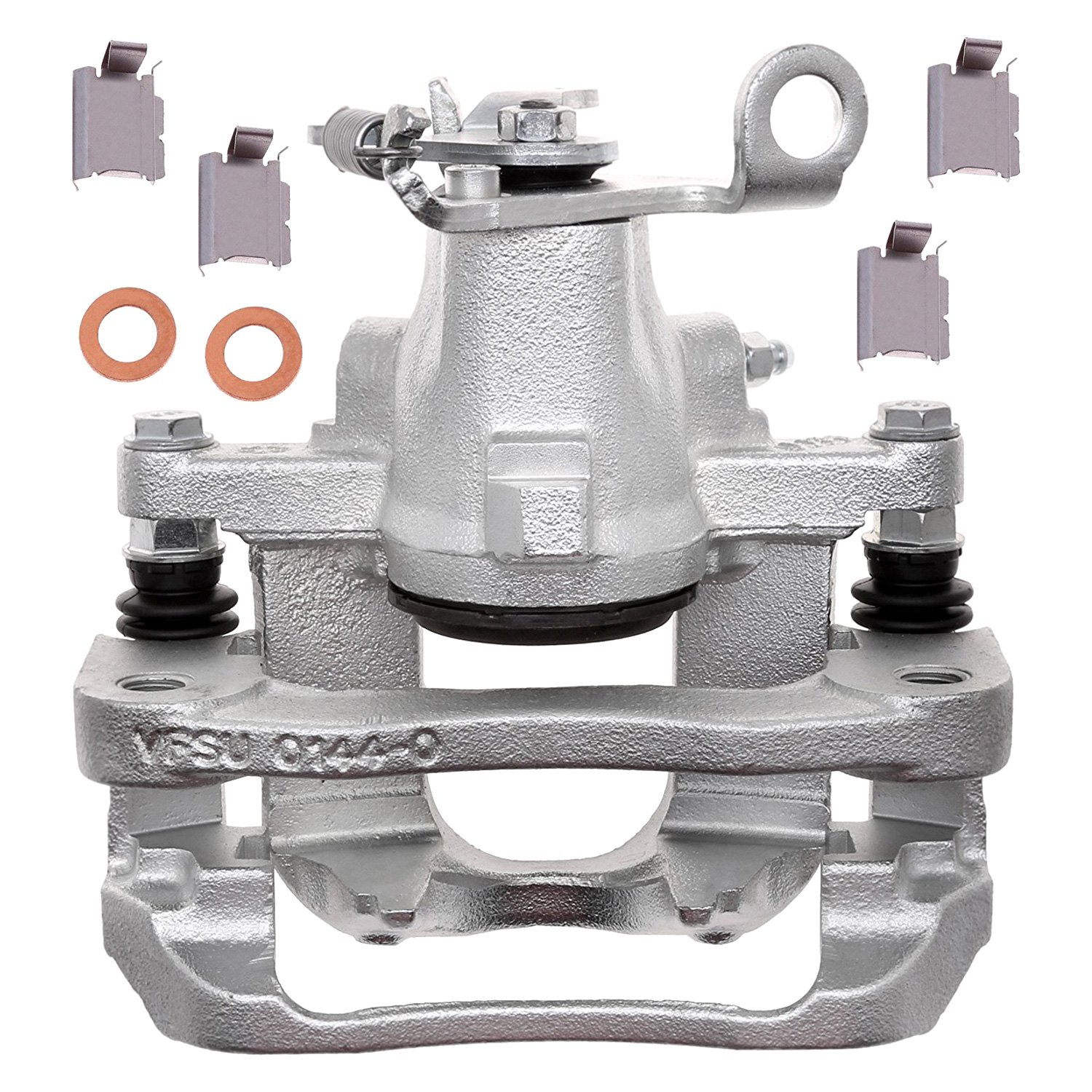 Remanufactured Loaded ACDelco 18R12613 Professional Front Disc Brake Caliper Assembly with Pads