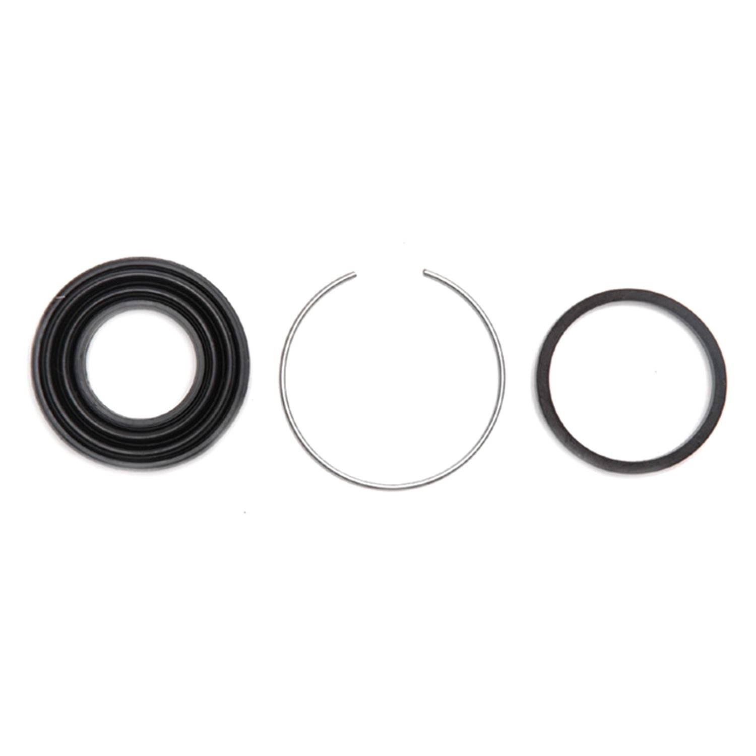 ACDelco 18H1190 Professional Rear Disc Brake Caliper Rubber Bushing Kit with Boots and Seals