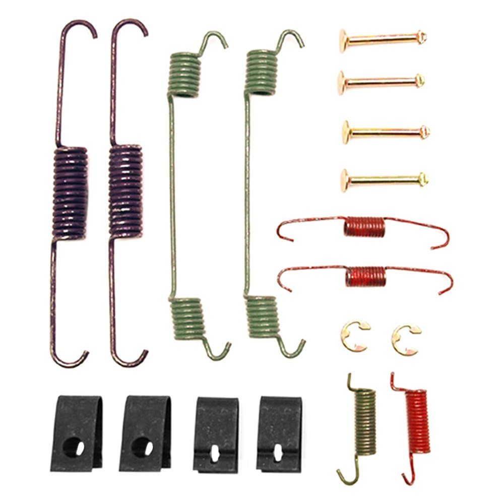 acdelco dodge ram 2000 professional rear drum brake hardware kit. Black Bedroom Furniture Sets. Home Design Ideas
