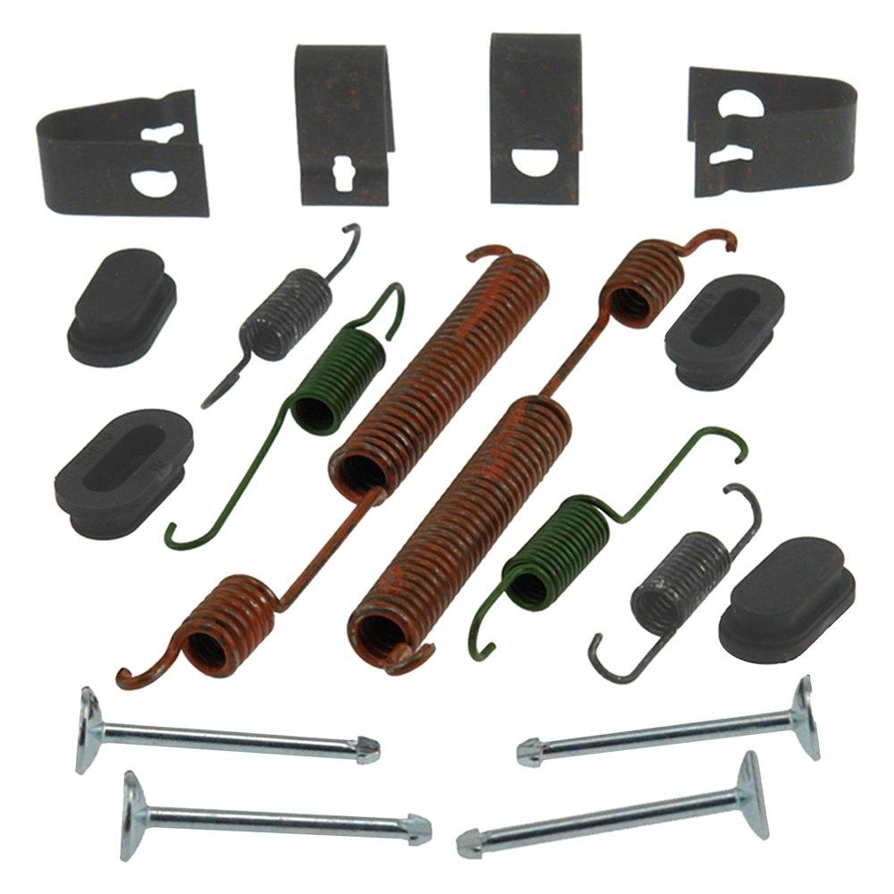 acdelco chrysler pt cruiser 2004 professional rear drum brake hardware kit. Black Bedroom Furniture Sets. Home Design Ideas
