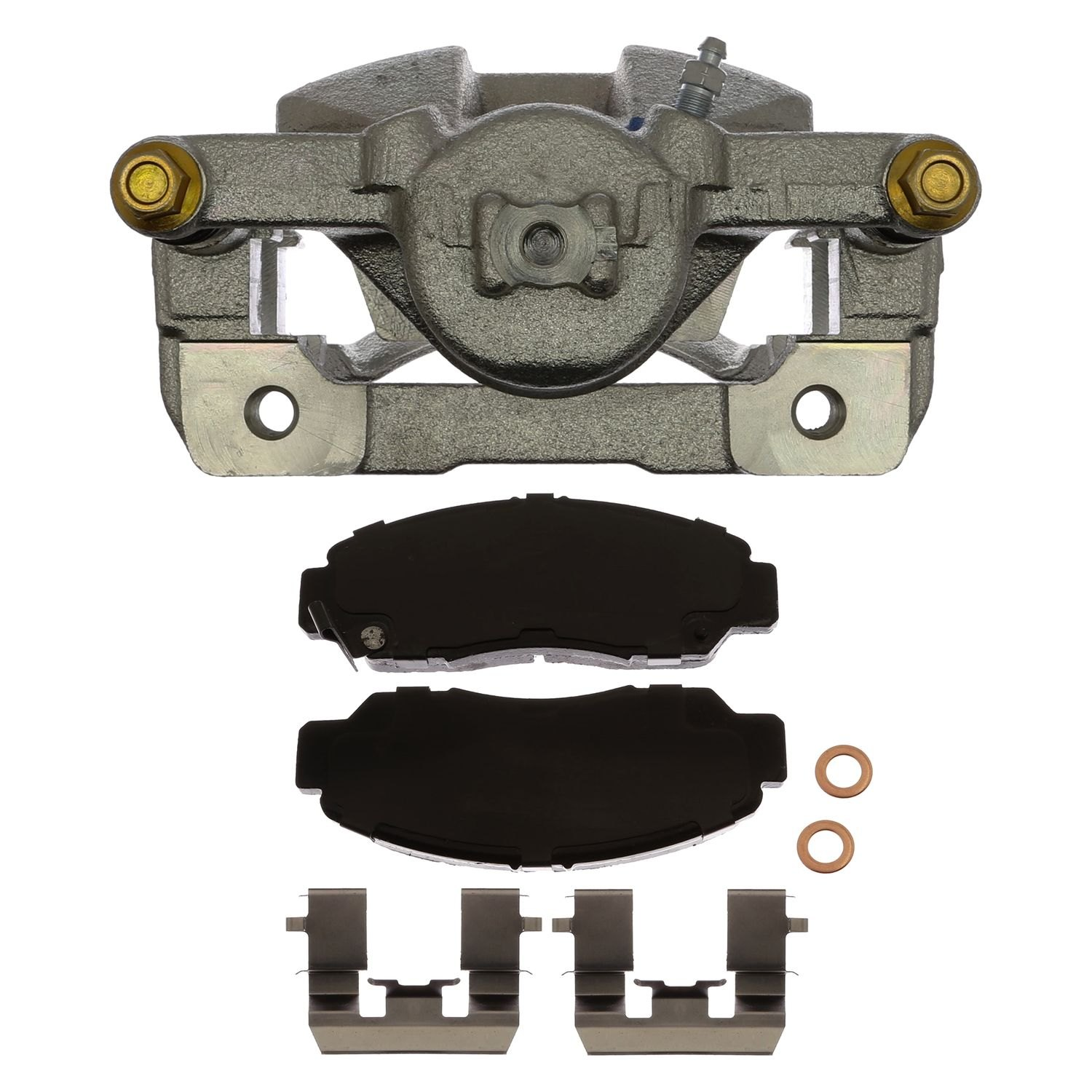 ACDelco 18R11860 Professional Front Disc Brake Caliper Assembly with Pads Remanufactured Loaded