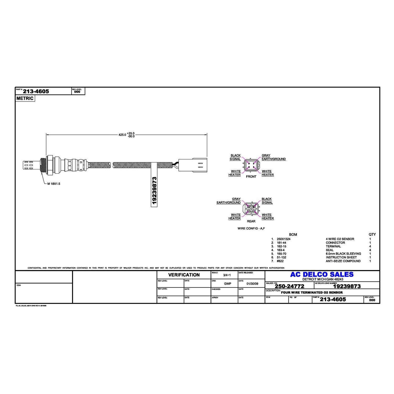 Ac Oxygen Sensor Wiring - wiring diagram on the net on