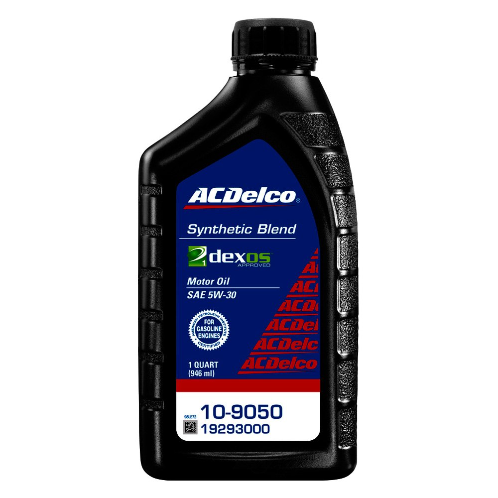 What Is Dexos Oil >> Acdelco Gm Original Equipment Dexos 1 Sae 5w 30 Synthetic Blend Motor Oil