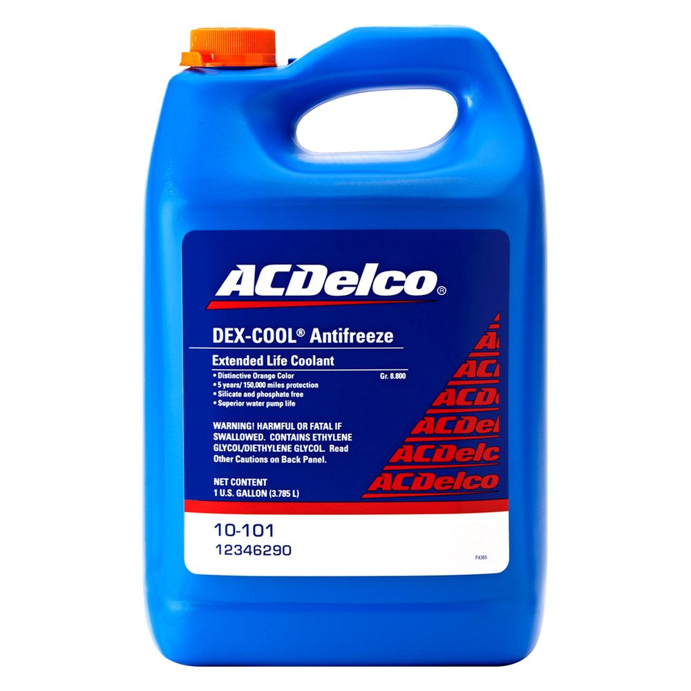 Acdelco 10 101 Dex Cool Engine Coolant Antifreeze Damage