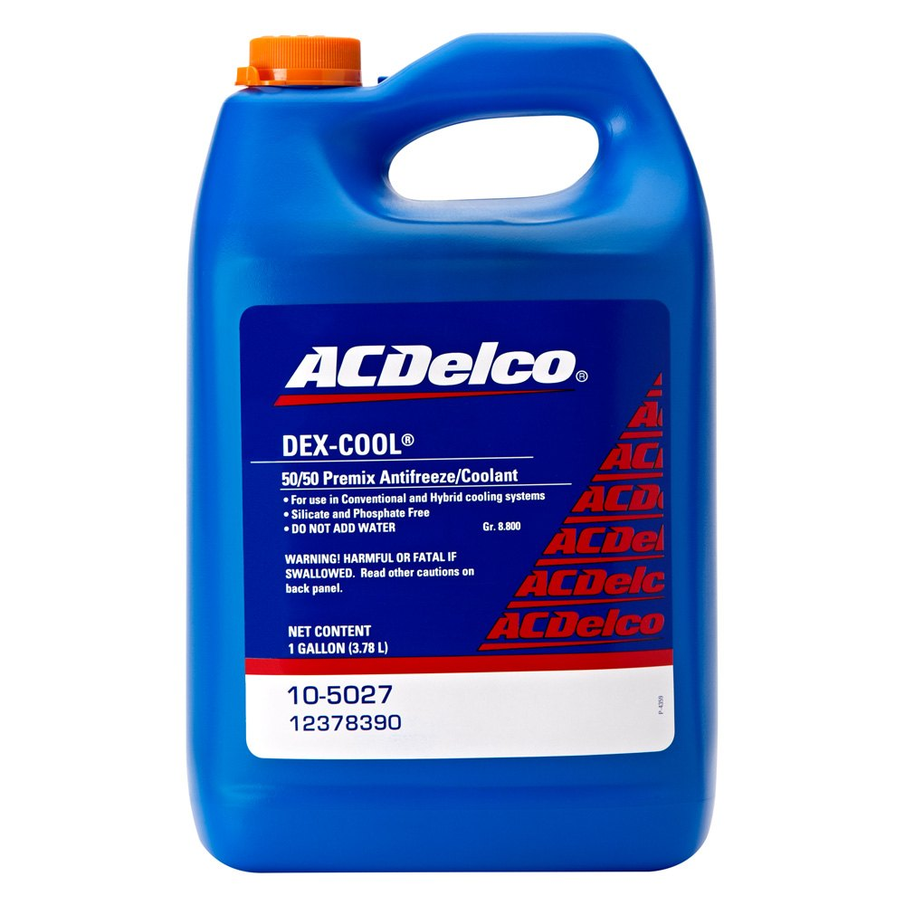 Acdelco 174 10 5027 Dex Cool 50 50 Pre Mix Engine Coolant
