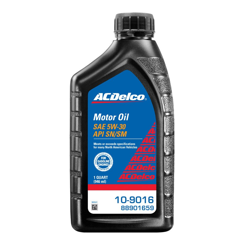acdelco 10 9016 sae 5w 30 motor oil
