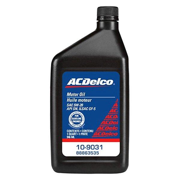 Acdelco 10 9031 sae 5w 20 motor oil 1 quart for Sae 20 motor oil