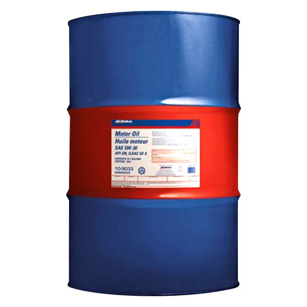 acdelco 10 9033 5w 30 motor oil 55 gallons drum On 55 gallon motor oil prices