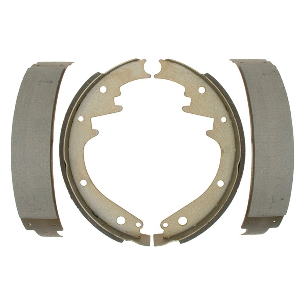 Front Drum Brakes : Acdelco b advantage™ front drum brake shoes