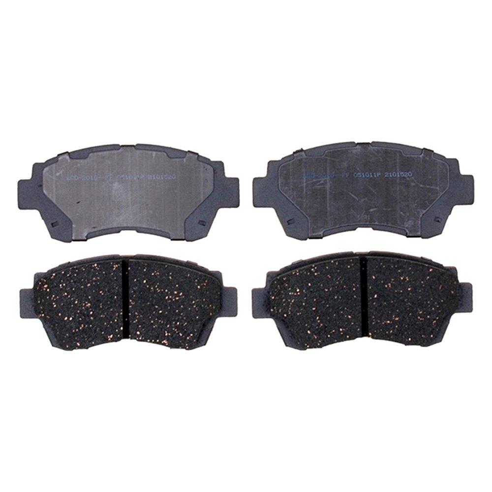 Acdelco d c advantage™ ceramic front disc brake pads