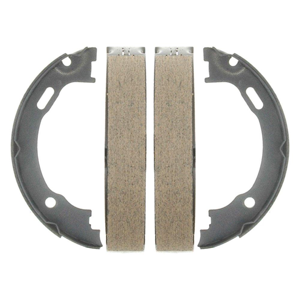 acdelco 17777b chrysler 300 300c 2016 professional bonded rear parking brake shoes. Black Bedroom Furniture Sets. Home Design Ideas