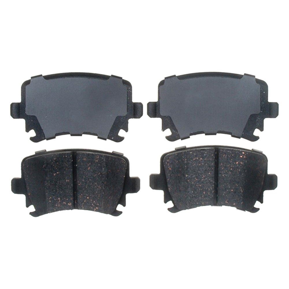 Acdelco d c professional™ ceramic rear disc brake pads