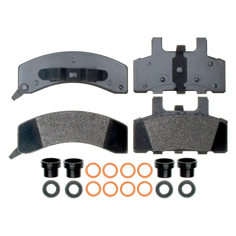 Brake Pad Material Types : Acdelco chevy tahoe professional™ semi metallic
