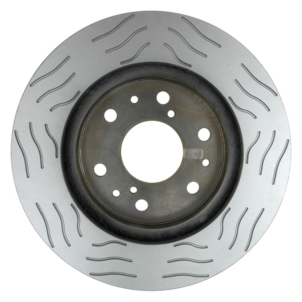 specialty severe duty slotted 1 piece front brake rotoracdelco