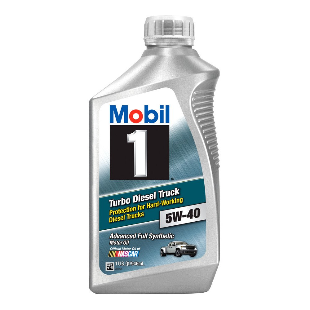 Mobil 1 diesel oil 5w 40 for 5 w 40 motor oil