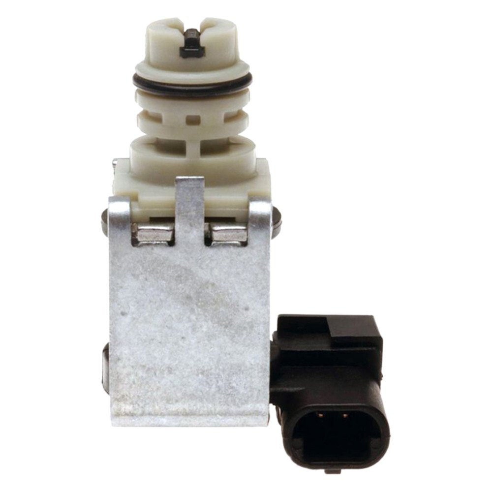 A shift solenoid is a component of a vehicle's transmission system regulating the transmission fluid levels in a car.