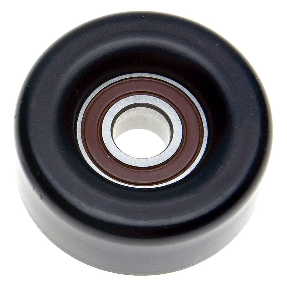 Idler Pulley : Acdelco? professional steel a c drive belt idler