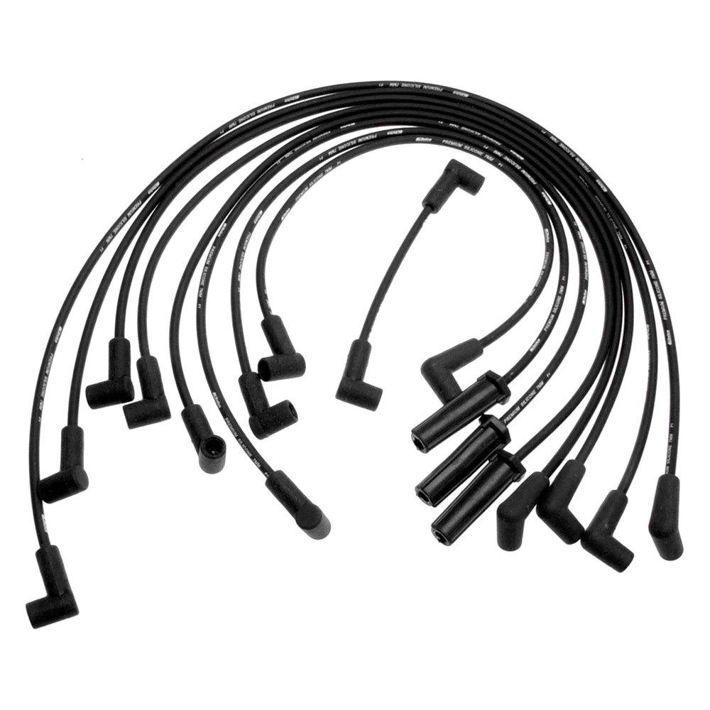 acdelco 708q gm original equipment spark plug wire set. Black Bedroom Furniture Sets. Home Design Ideas