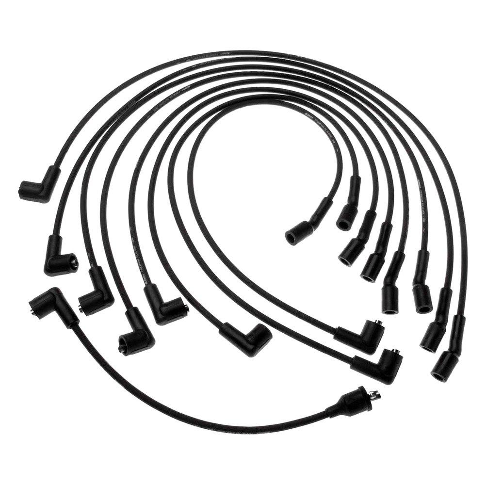 Acdelco Chevy Impala 1962 Professional Spark Plug Wire Set 1960 Wiring Diagram With Alternator