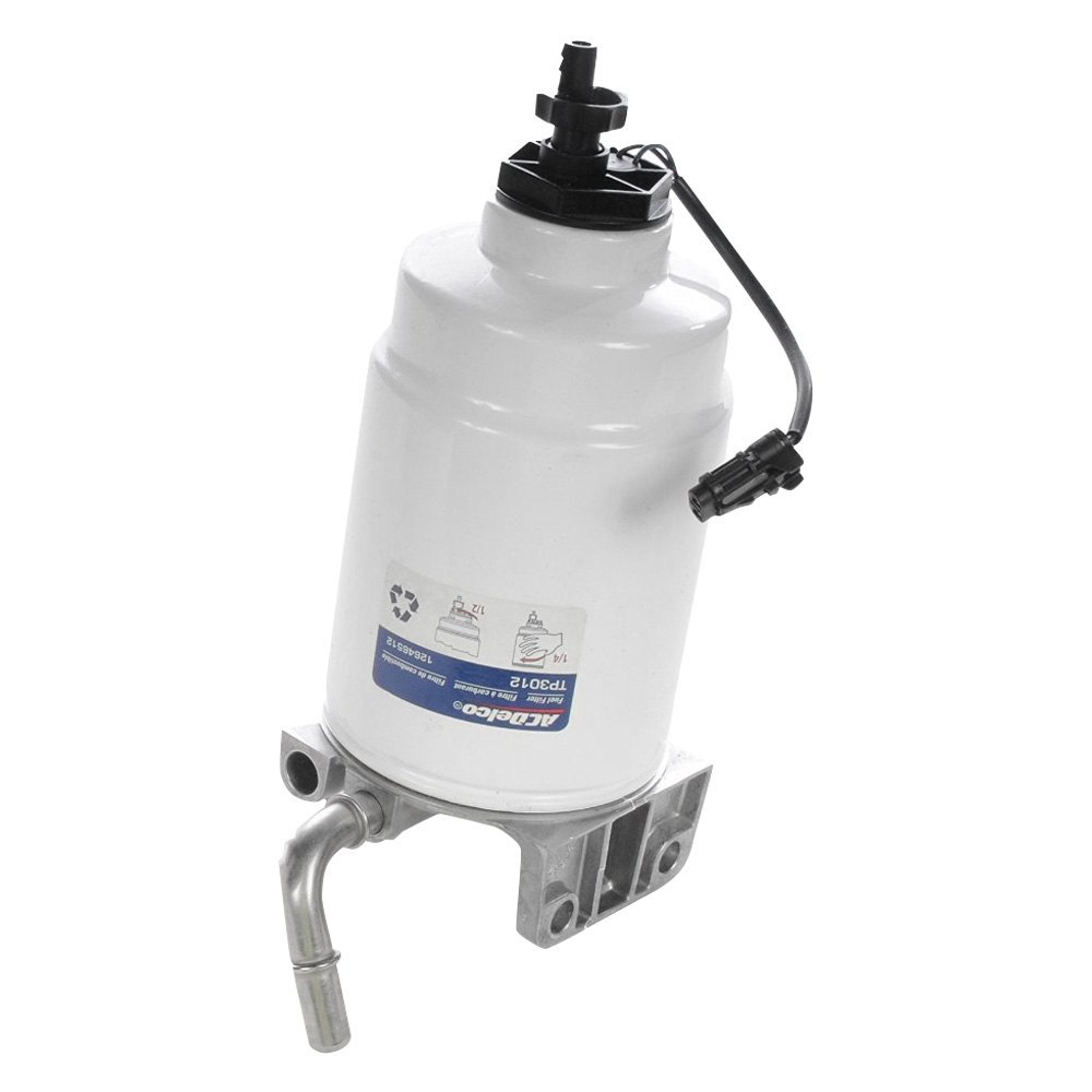 how to change fuel water separator filter