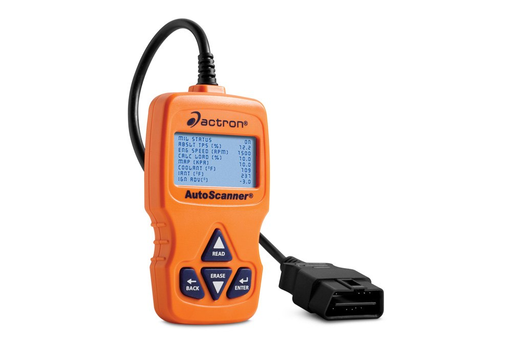 actron autoscanner plus how to clear codes