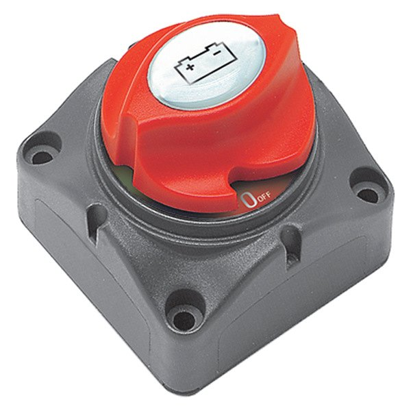 Battery Master Switch : Marinco contour battery master switch