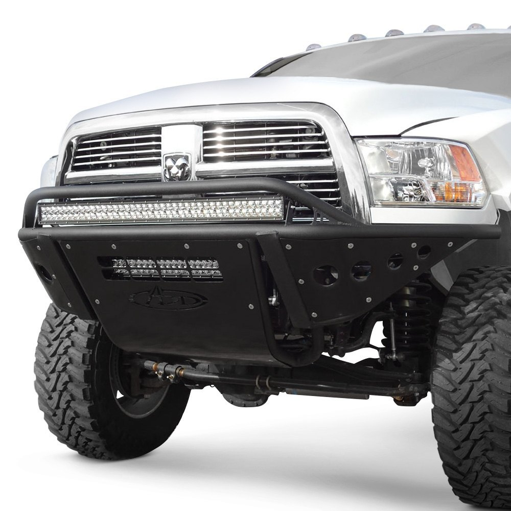 Addictive desert designs stealth full width front pre runner black bumper