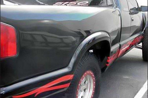 Advanced Fiberglass Concepts® - Fiberglass Front Fenders and Bedsides  (Unpainted)