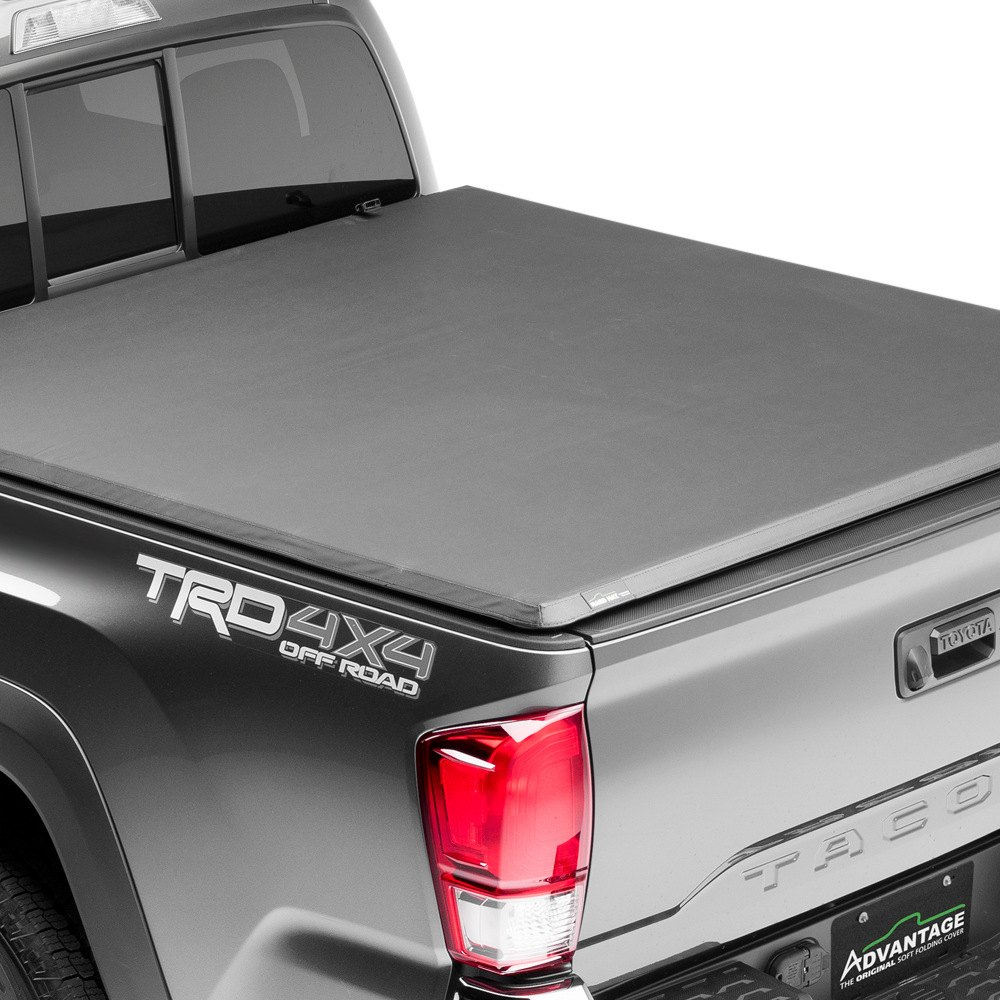 Advantage truck accessories hard hat tonneau cover closed