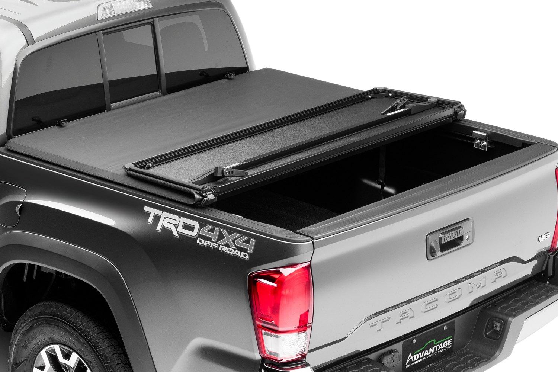 Advantage Truck Accessories Toyota Tacoma 2005 2015 Hard Hat Tri Fold Tonneau Cover