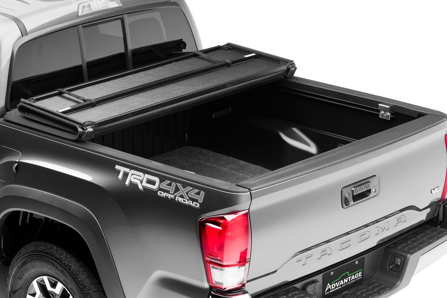 truck accessories hard hat tonneau cover opened
