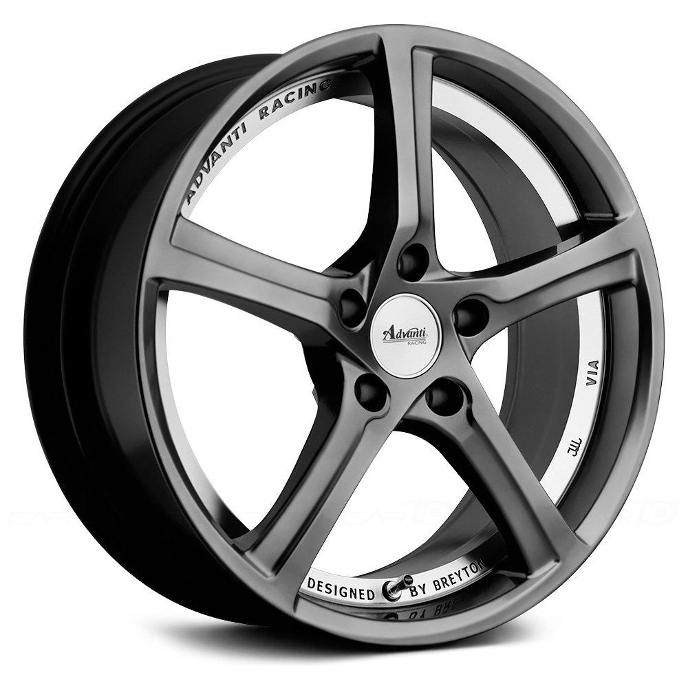advanti racing 15th anniversary wheels hyper dark with machined undercut rims. Black Bedroom Furniture Sets. Home Design Ideas
