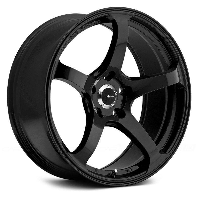 advanti racing deriva wheels gloss black rims. Black Bedroom Furniture Sets. Home Design Ideas