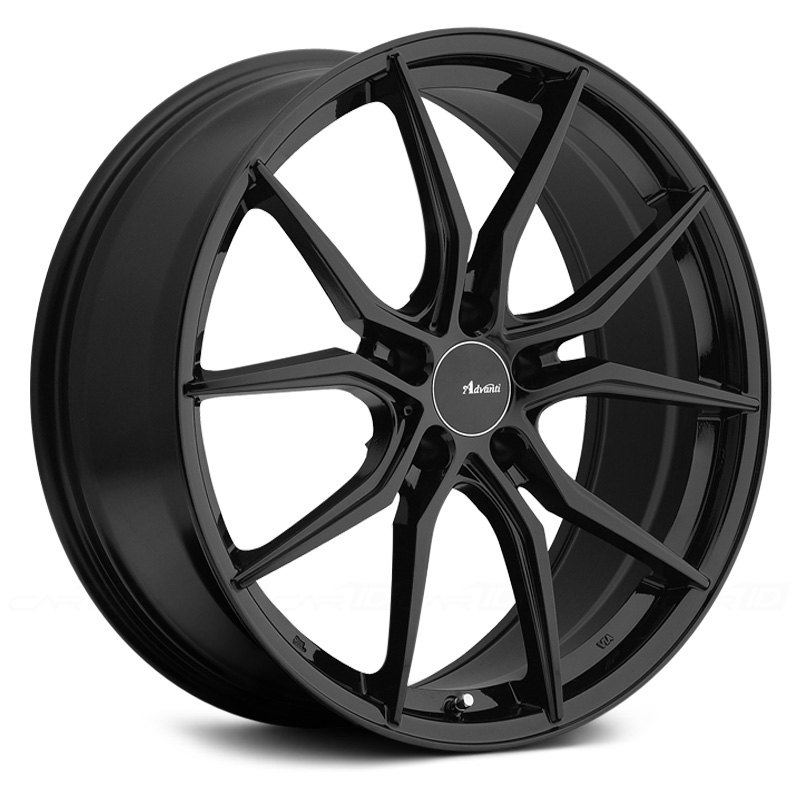 advanti racing hybris wheels gloss black rims. Black Bedroom Furniture Sets. Home Design Ideas